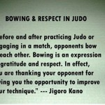 Bowing and Respect in Judo