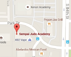 Judo In Omaha NE Map